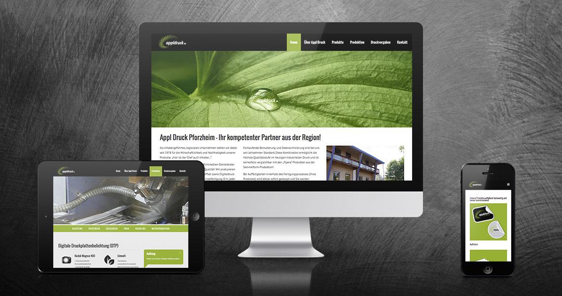 appl druck gmbh hummel grafikdesign und webdesign pforzheim. Black Bedroom Furniture Sets. Home Design Ideas