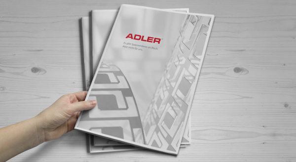 Adler Broschüre Titelbild