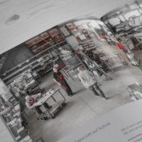 Adler Broschüre Produktion
