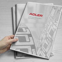 Adler Firmen Broschüre