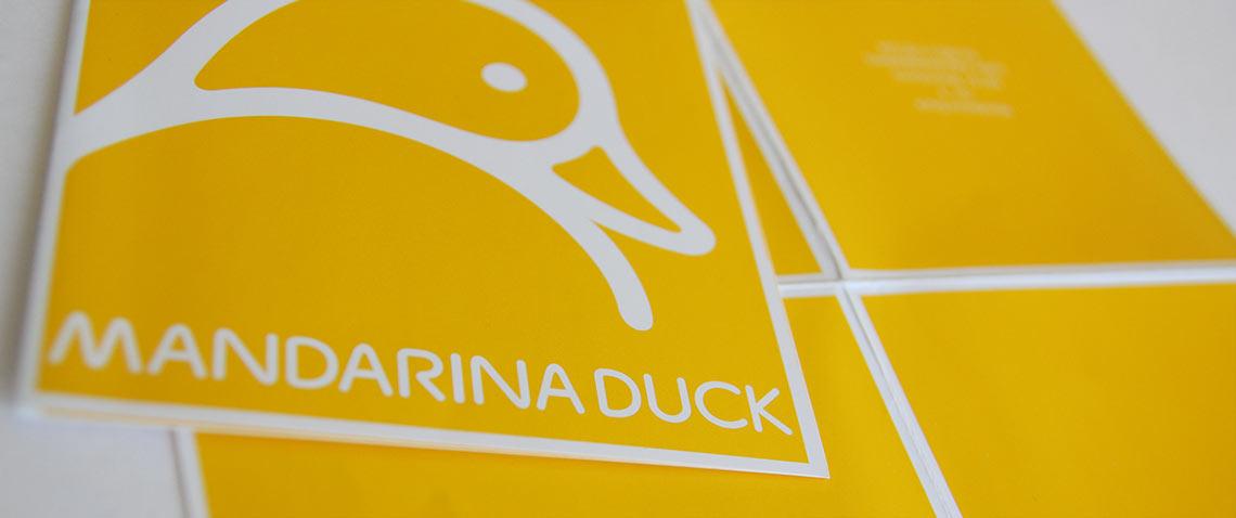 Mandarina Duck Einladungskarte Mannheim