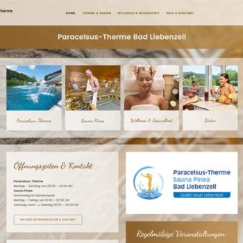 Therme Bad Liebenzell Homepage